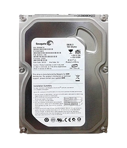 SEAGATE 160GB SATA Internal Hard Disk for Desktop/PC