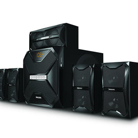 Philips SPA-5250B 5.1 Channel Multimedia Speakers (Black)