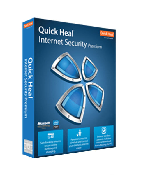 QUICK HEAL INTERNET SECURITY (5 USER)