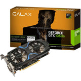 GALAX GeForce GTX 1050Ti EXOC 4GB 128-bit DDR5 Graphics Card for Gaming PC