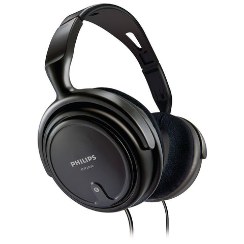 PHILIPS EP SHP2000 Headphones (Black)