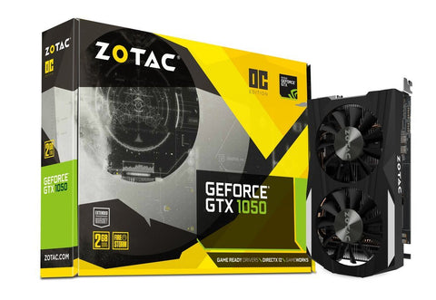 ZOTAC GeForce GTX 1050 2GB DDR5 OC DUAL Graphic Cards for Gaming PC