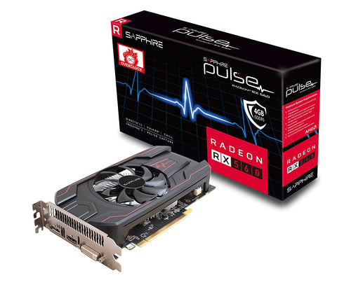SAPPHIRE Radeon RX 560 PULSE 4GB DDR5 Graphics Card for Gaming PC