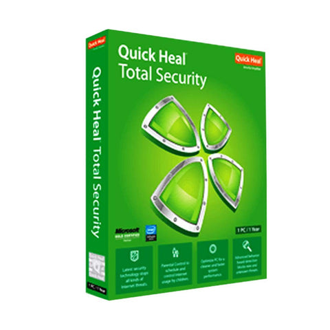 QUICK HEAL TOTAL SECURITY (2 USER) - RIGASSEMBLER
