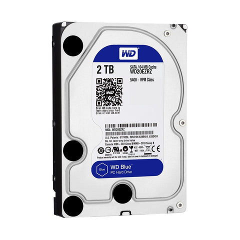 Western Digital 2TB SATA Internal Hard Disk for Desktop/PC