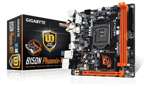 GIGABYTE B150N PHOENIX WIFI Intel Compatible Motherboard for Desktop Computer/PC