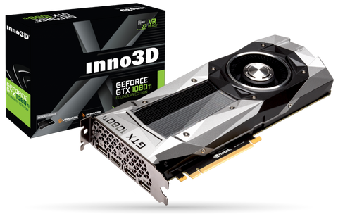 INNO3D GEFORCE GTX 1080TI 11GB Graphics Card for Gaming PC