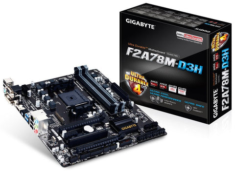GIGABYTE F2A78M-D3H AMD Compatible Motherboard for Desktop Computer/PC
