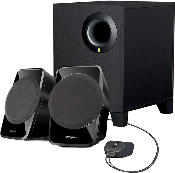 CREATIVE SBS A120 2.1 Channel Multimedia Speaker System (Black)