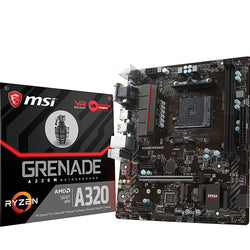 MSI A320M GRENADE Compatible Motherboard for Desktop Computer/PC