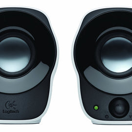 LOGITECH Z120 Stereo Speaker (Black and White)
