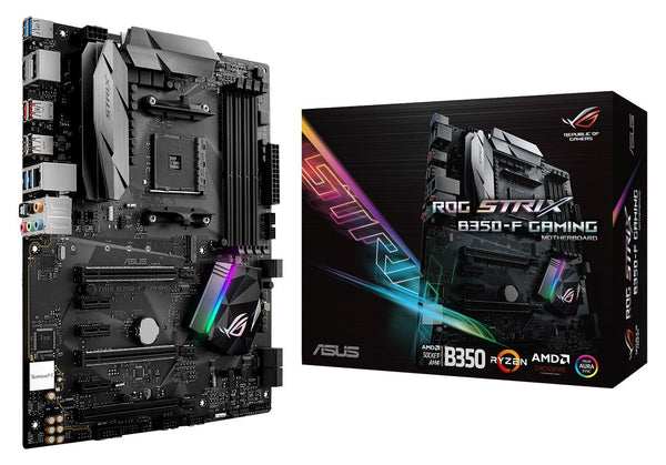 ASUS B350-F GAMING Compatible Motherboard for Desktop Computer/PC