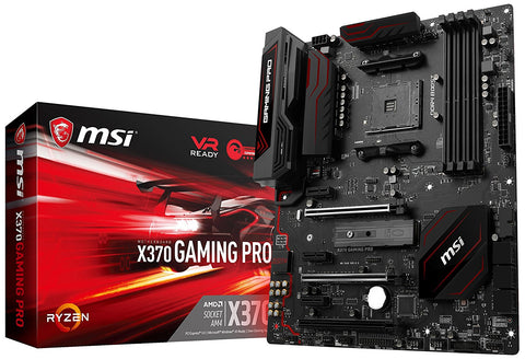 MSI X370 GAMING PRO AMD Compatible Motherboard for Desktop Computer/PC