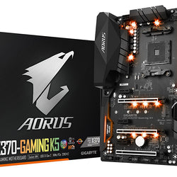 GIGABYTE AX 370-GAMING K5 AMD Compatible Motherboard for Desktop Computer/PC