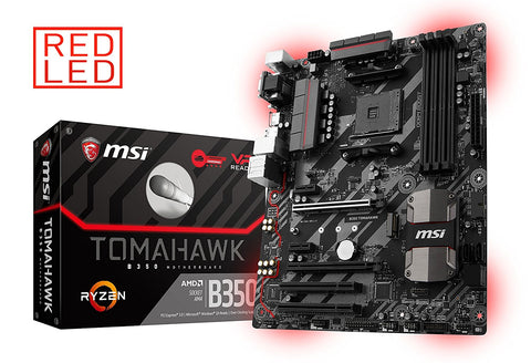 MSI B350 TOMAHAWK AMD Compatible Motherboard for Desktop Computer/PC