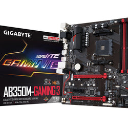 GIGABYTE AB350M GAMING 3 AMD Compatible Motherboard for Desktop Computer/PC
