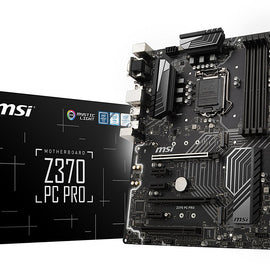 MSI Z370 PC PRO Intel Compatible Motherboard for Desktop Computer/PC