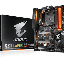GIGABYTE AX370 GAMING K7 Compatible Motherboard for Desktop Computer/PC