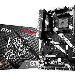 MSI X370 Krait Socket AM4 ATX Compatible Motherboard for Desktop Computer/PC