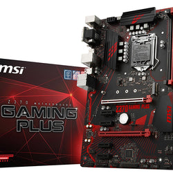 MSI Z370 GAMING PLUS Intel Compatible Motherboard for Desktop Computer/PC