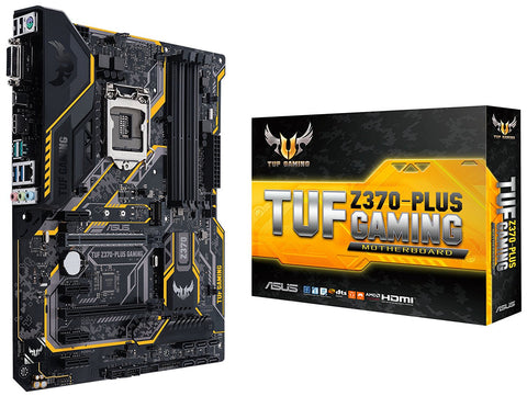 ASUS Z370 PLUS GAMING Intel Compatible Motherboard for Desktop Computer/PC