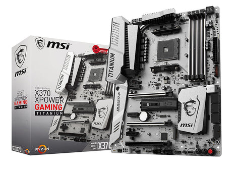 MSI X370 XPOWER GAMING TITANIUM Compatible Motherboard for Desktop Computer/PC