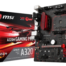 MSI A320M GAMING PRO AMD Compatible Motherboard for Desktop Computer/PC