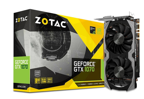 ZOTAC GeForce GTX1070 8GB DDR5 Graphic Cards for Gaming PC