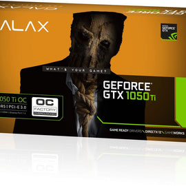 GALAX GeForce GTX 1050Ti 4GB OC Graphics Card for Gaming PC