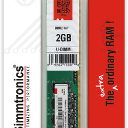 SIMMTRONICS 2GB DDR2 RAM for Desktop Computer/PC