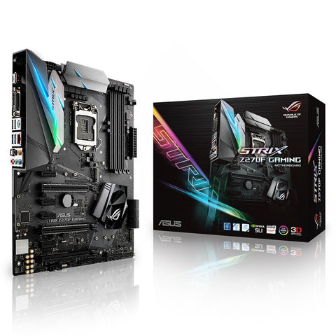 ASUS STRIX Z270F - GAMING Intel Compatible Motherboard for Desktop Computer/PC