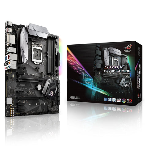 ASUS STRIX H270F GAMING Intel Compatible Motherboard for Desktop Computer/PC