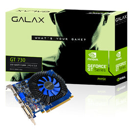 GALAX GEFORCE GTX 730-2GB DDR5 Graphics Card for Gaming PC