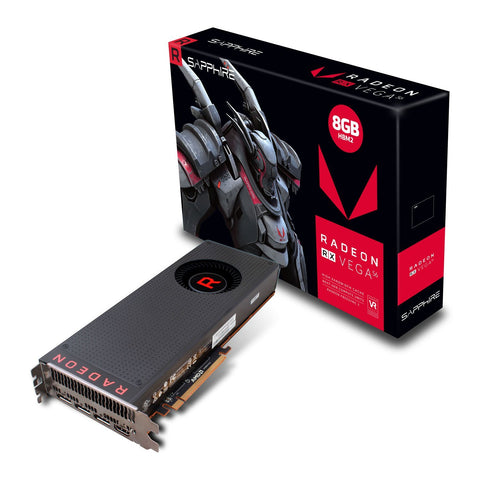 Sapphire Radeon RX VEGA 56 8GB DDR5 Graphics Card for Gaming PC