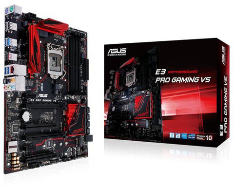 ASUS E3 PRO GAMING V5 (1151) Intel Compatible Motherboard for Desktop Computer/PC