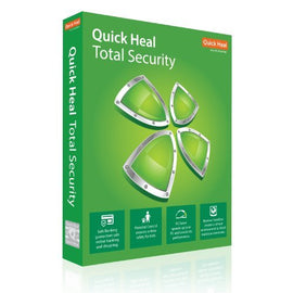 Quick Heal Total Security Latest Version - 2 PCs, 3 Years