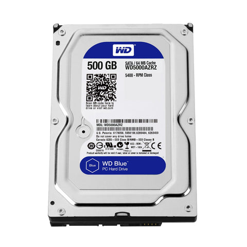 Western Digital 500GB Internal Hard Disk for Laptop
