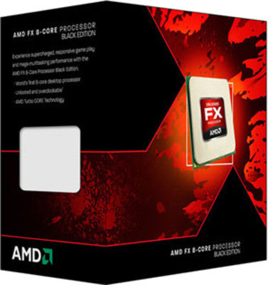 AMD BULLDOZER FX 8350 8 Core (AM3) - RIGASSEMBLER