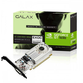 Galax GeForce GT 1030 EXOC - 2GB GDDR5 Graphics Card for Gaming PC