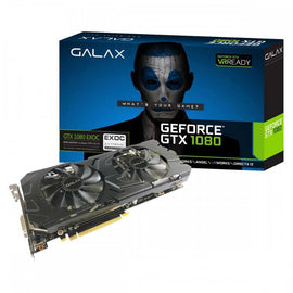 GALAX Nvidia GeForce GTX 1080 EXOC 8GB DDR5 Graphics Card for Gaming PC