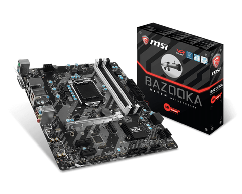 MSI B250M BAZOOKA Intel Compatible Motherboard for Desktop Computer/PC