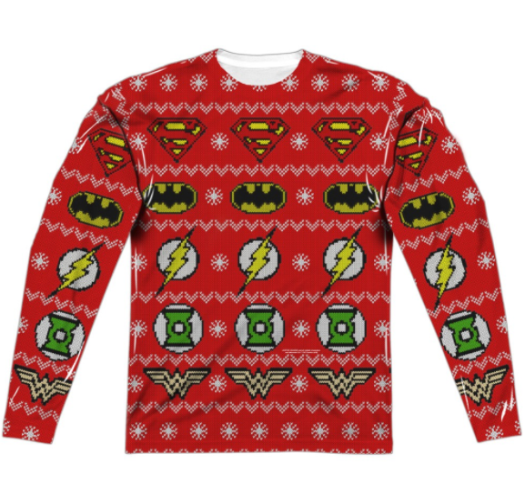 Justice League Ugly Sweater