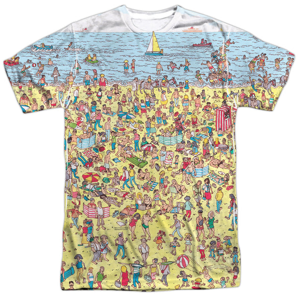 "Where's Waldo ""Beach Scene"" T-shirt"