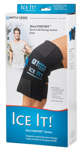 Ice It!® MaxCOMFORT™ System (Model 512) Knee