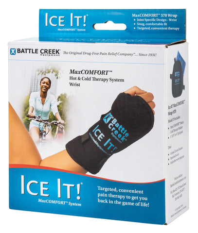 Ice It!® MaxCOMFORT™ System (Model 570) Wrist