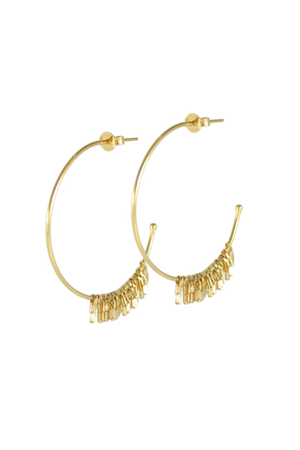 Stacy Earrings Vermeil