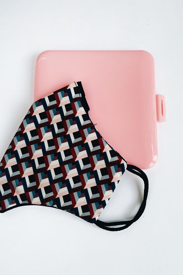Face Mask Case Pink