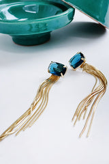PONI Earrings Blue