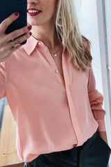 Isja 20808110 Blouse Coral