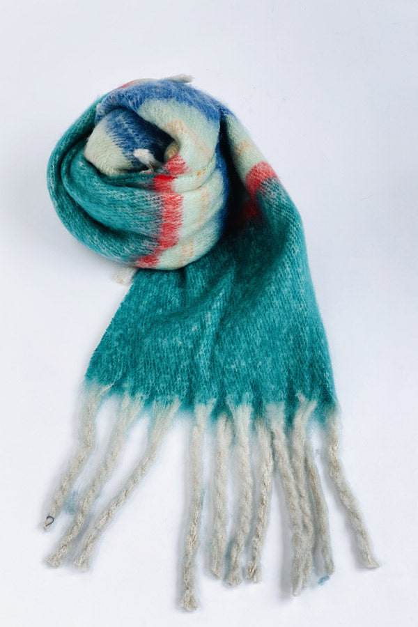 Alice Scarf Turquoise